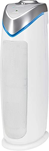 Quiet Air Purifier for Home - HEPA Filter, UV Light Sanitizer (Eliminates Germs, Filters Allergies, Pollen, Smoke, Dust Pet Dander, Mold Odors) [Guardian] Picture