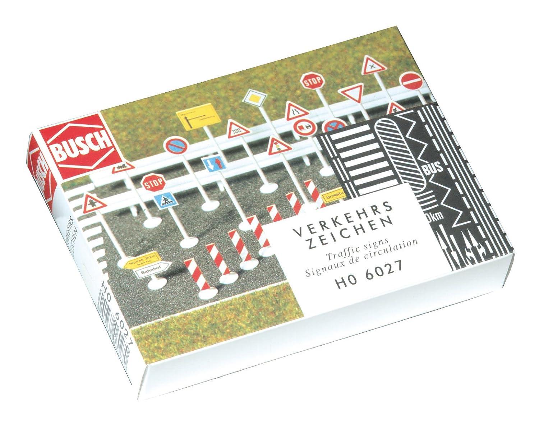 Busch Señal de modelismo ferroviario H0 (12x12x4 cm) (6027)