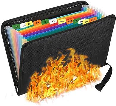 Bolsa ignífuga para documentos, bolsa de almacenamiento ...