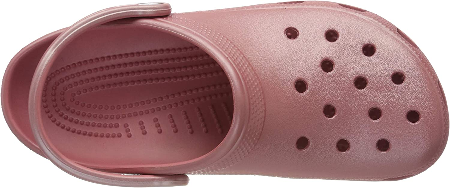 Metallic and Glitter Shoes Crocs Mens and Womens Classic Sparkly Clog