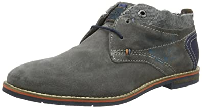 Herren 311111131400 Derby, Grau (Light Grey 1200), 42 EU Bugatti