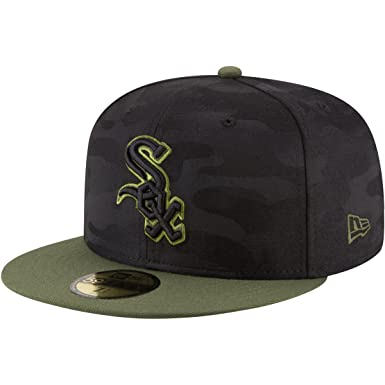 d9e9c3f80 Amazon.com: New Era Chicago White Sox Memorial Day Fitted Cap 59fifty  Basecap Limited Special Edition: Clothing