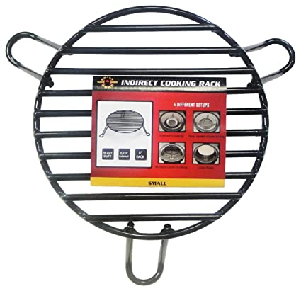 Amazon.com: Grill Dome indirecta rack de cocción, S: Jardín ...