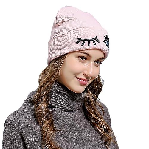 Ncient - Gorro de punto - para mujer rosa