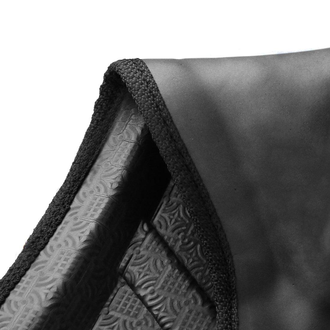 Sourcingmap A16121900Ux0333 Tapete Alfombra Cubierta de Piso Maletero Negro