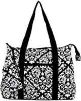 Ever Moda Moroccan Print Collection Tote Bag X-Large 21-inch