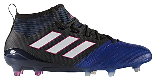 brand new 85e02 ff900 Adidas Mens Ace 17.1 Primeknit Fg Cblack, Ftwwht and Blue Football Boots -  12 UK