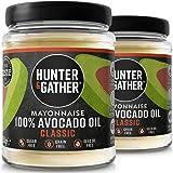 Hunter & Gather 2 X 250g (Pack Doble) Mayonesa De Aguacate   Hecha Con Aceite De Aguacate Puro Y Yema De Huevos De…