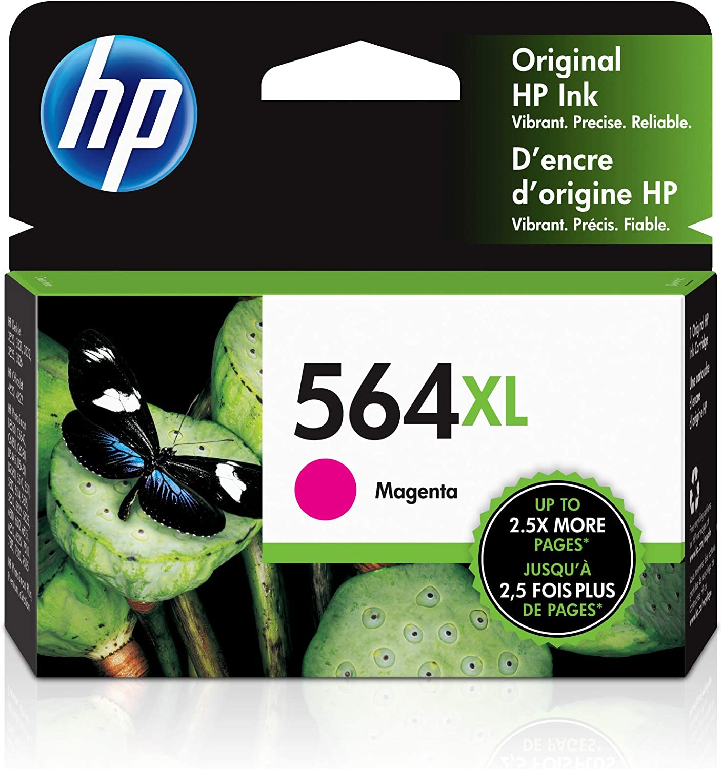 HP 564XL | Ink Cartridge | Magenta | CB324WN