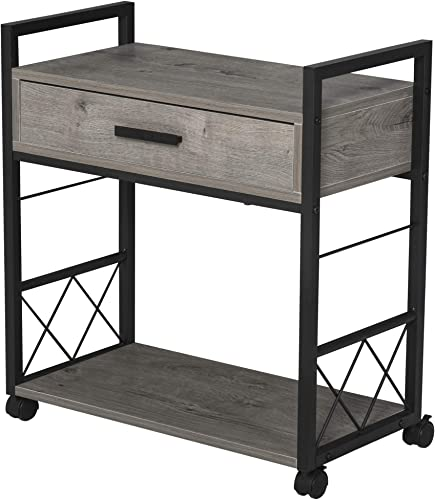 HOMCOM Industrial Style Side Table
