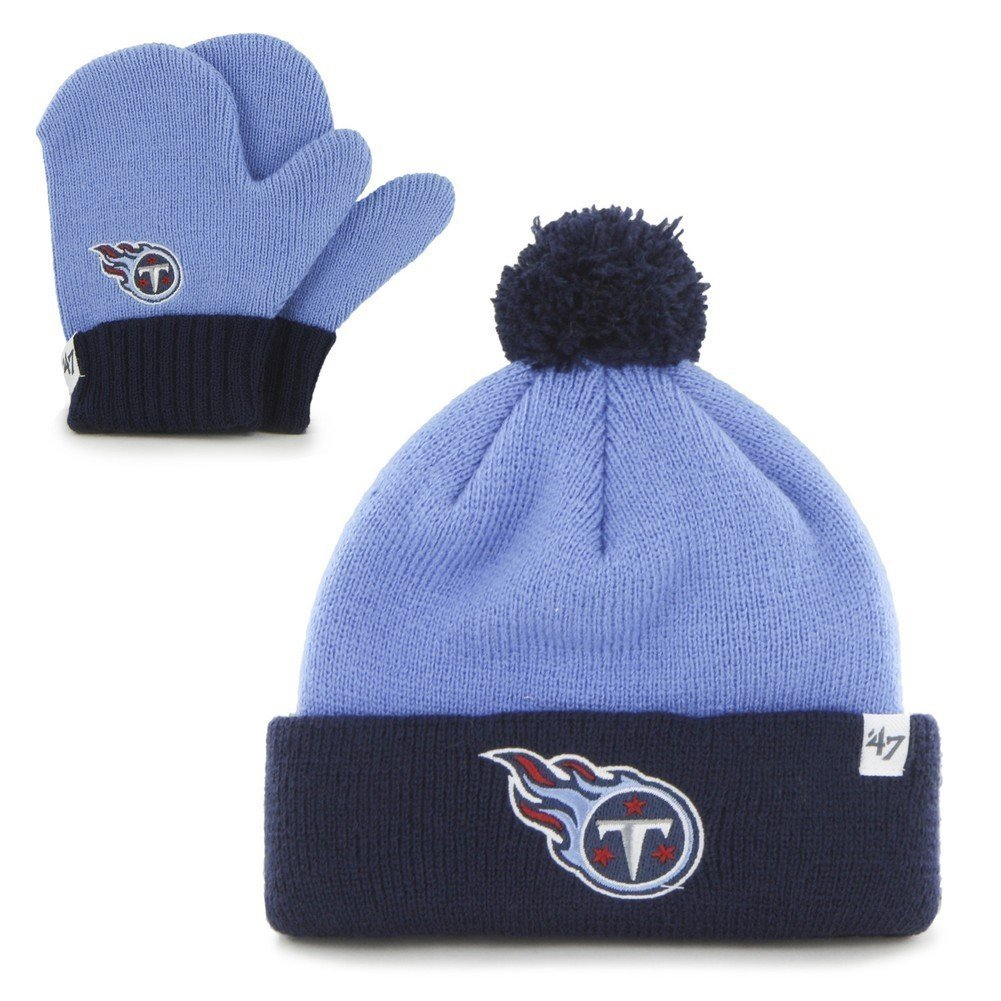 '47 Infant Knit Tennessee Titans Hat and Mittens Set '47 Brand 90728