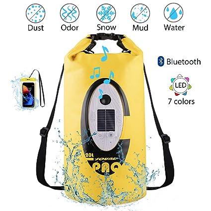 Amazon.com: Bolsa seca, mochila impermeable de 20 L con ...