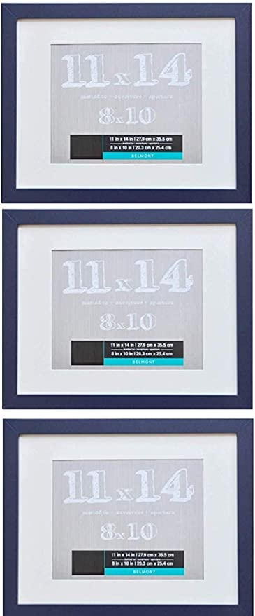 NAVY Picture And Photo Mounts Frame Mounts