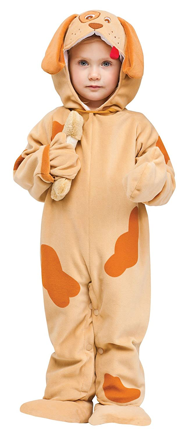Amazon.com Fun World Costumes Babyu0027s Playful Puppy Toddler Costume Tan Small Clothing  sc 1 st  Amazon.com & Amazon.com: Fun World Costumes Babyu0027s Playful Puppy Toddler Costume ...