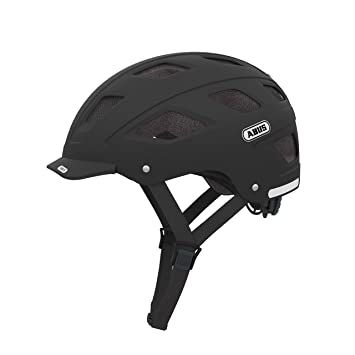Amazon.com : ABUS Hyban Helmet Velvet Black Large 56-61 ...