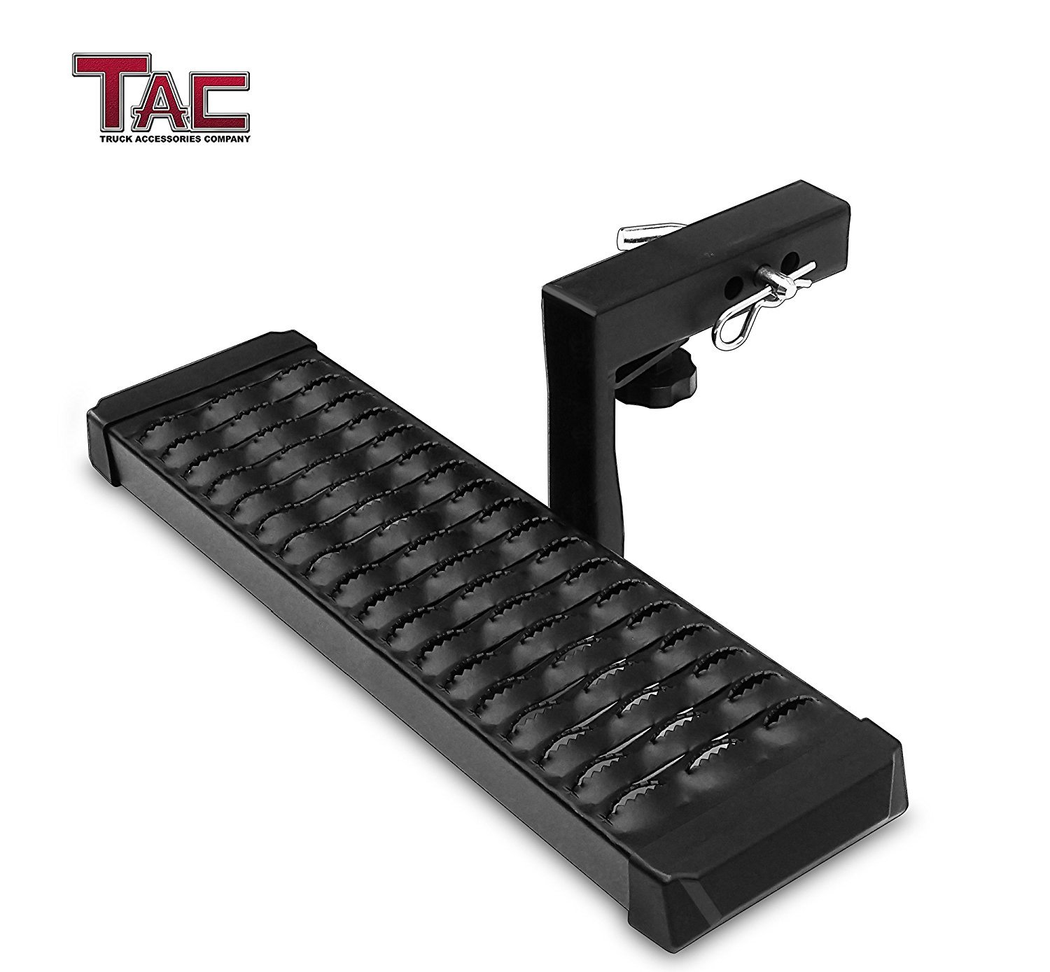 TAC Aluminum Hitch Step Universal Fit 2'' Rear Hitch Receivers with 6'' Drop
