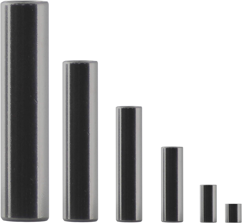 Falk-Schrauben Rohr geschwei/ßt Rohrbuchse |Abstandhalter Distanzring 10 St/ück Distanzh/ülse 12x9x15 aus Edelstahl A2 Made in Germany Distanzbuchse