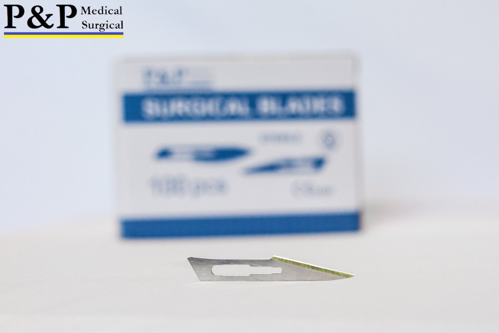 SCALPEL BLADE DISPOSABLE SURGICAL Size 11 (3000 blades) (High Grade Carbon Steel 2.1%,10xx) ,DESIGNED in USA by P&P Medical Surgical (Image #6)