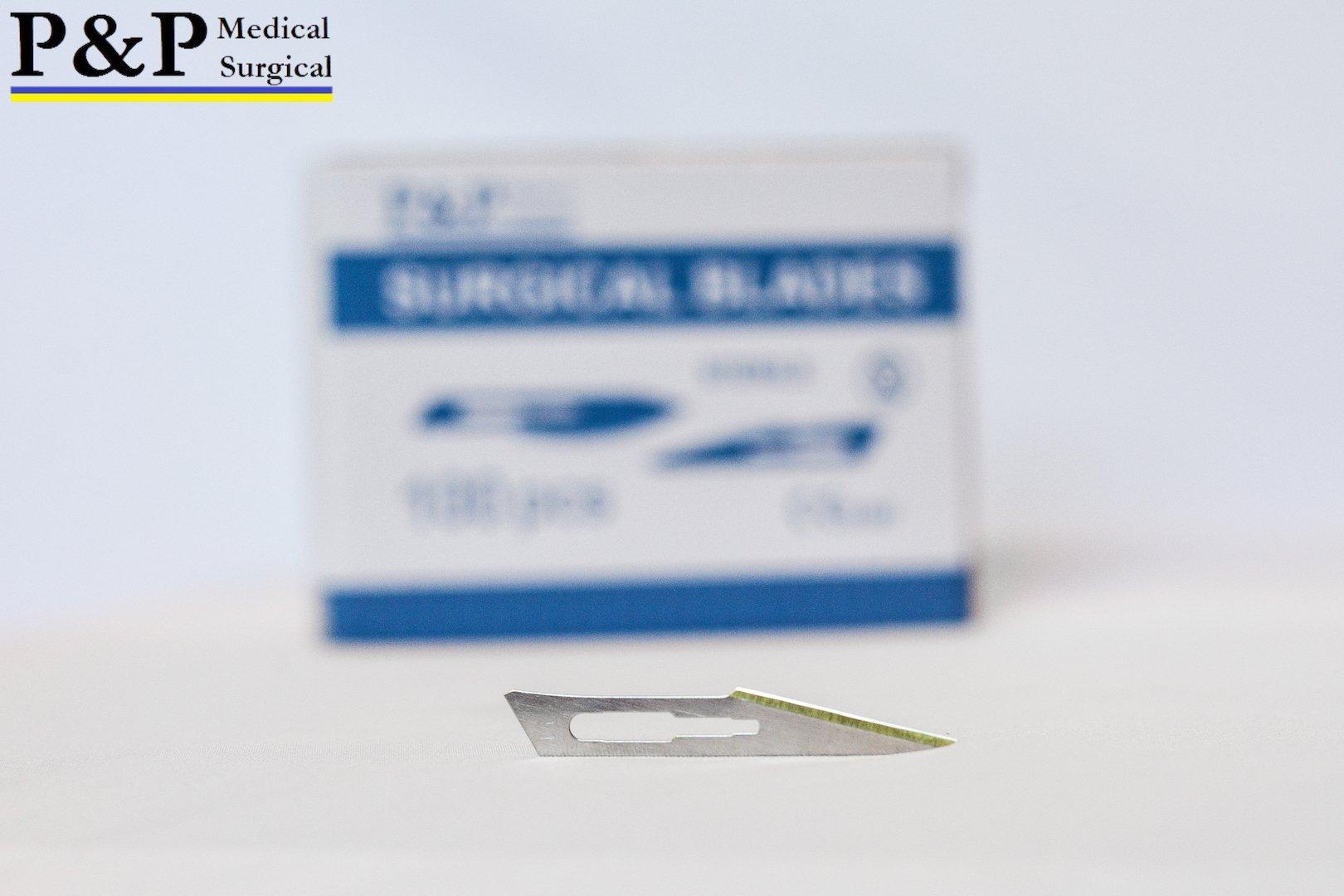 Scalpel blades size 11, set of 20 blades