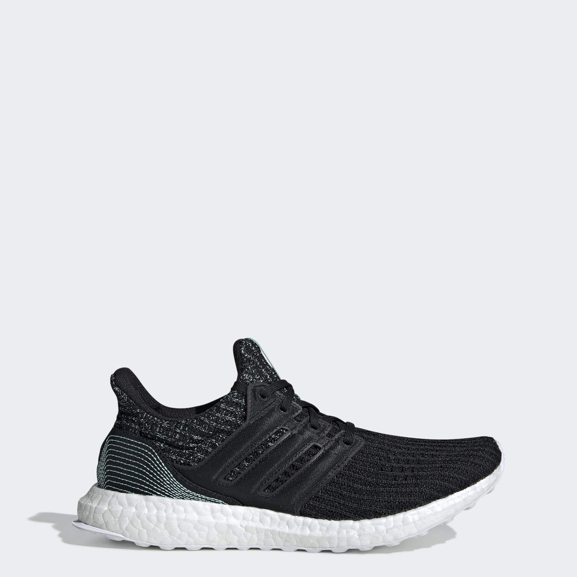 adidas Women's Ultraboost Parley, Core Black/Cloud White, 7.5 M US by adidas
