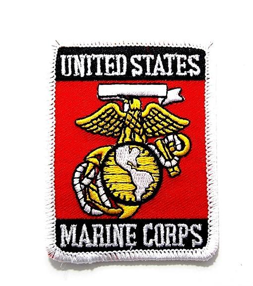 amazon com usmc marine corp insignia seal embroidered military