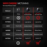 MicTuning LS083101JL Backlit Rocker Switch Kit