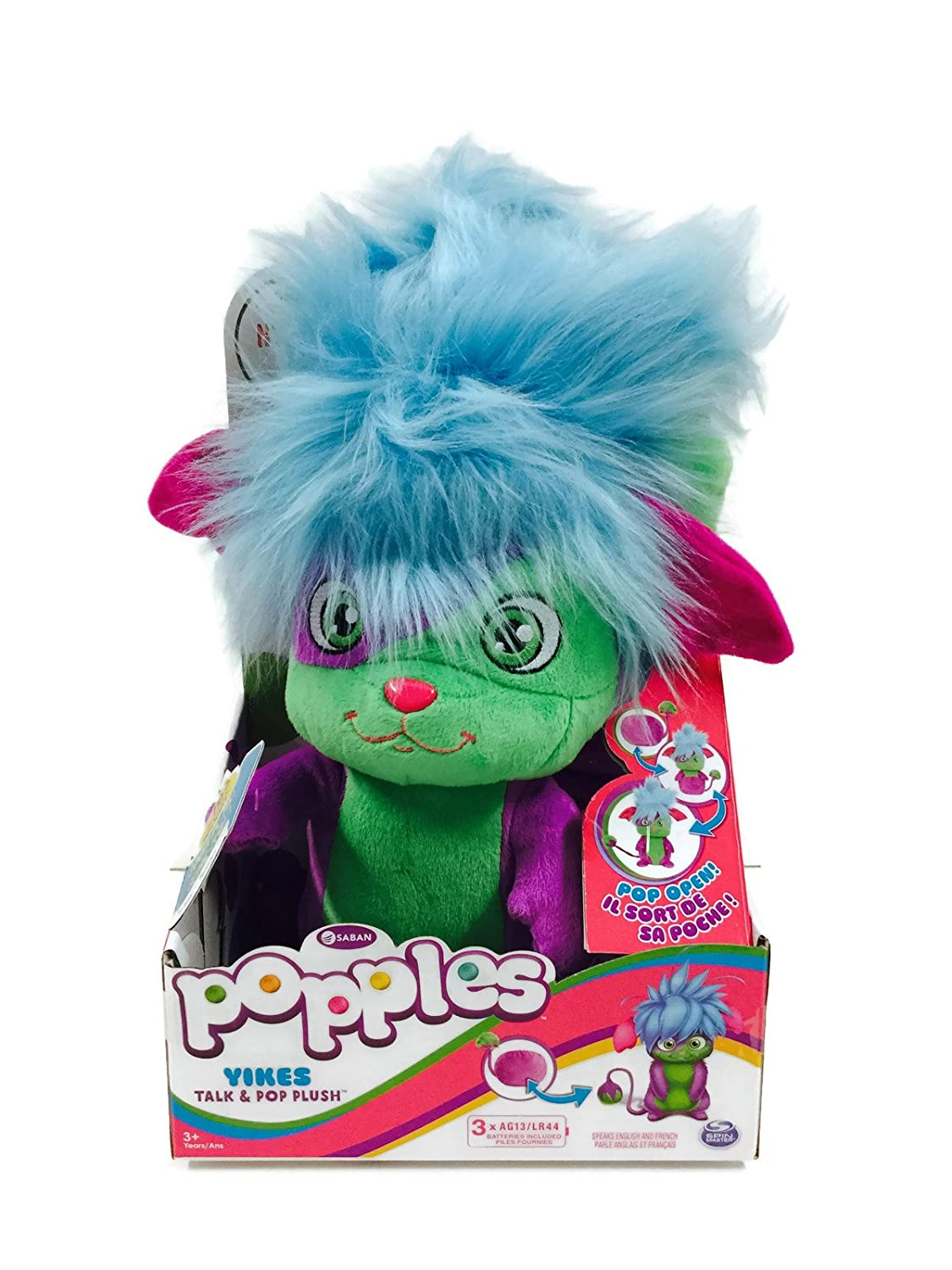 Popples Talk and Pop Plush Yikes