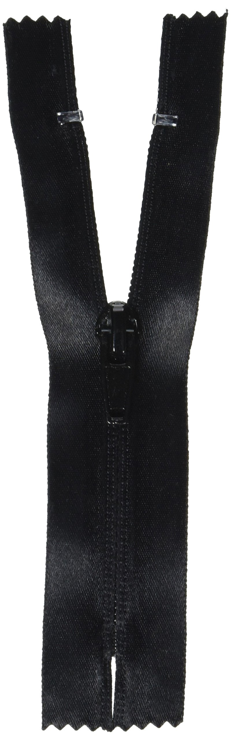Coats: Thread & Zippers Water-Resistant Closed Bottom Zipper, 9-Inch, Black by Coats: Thread & Zippers