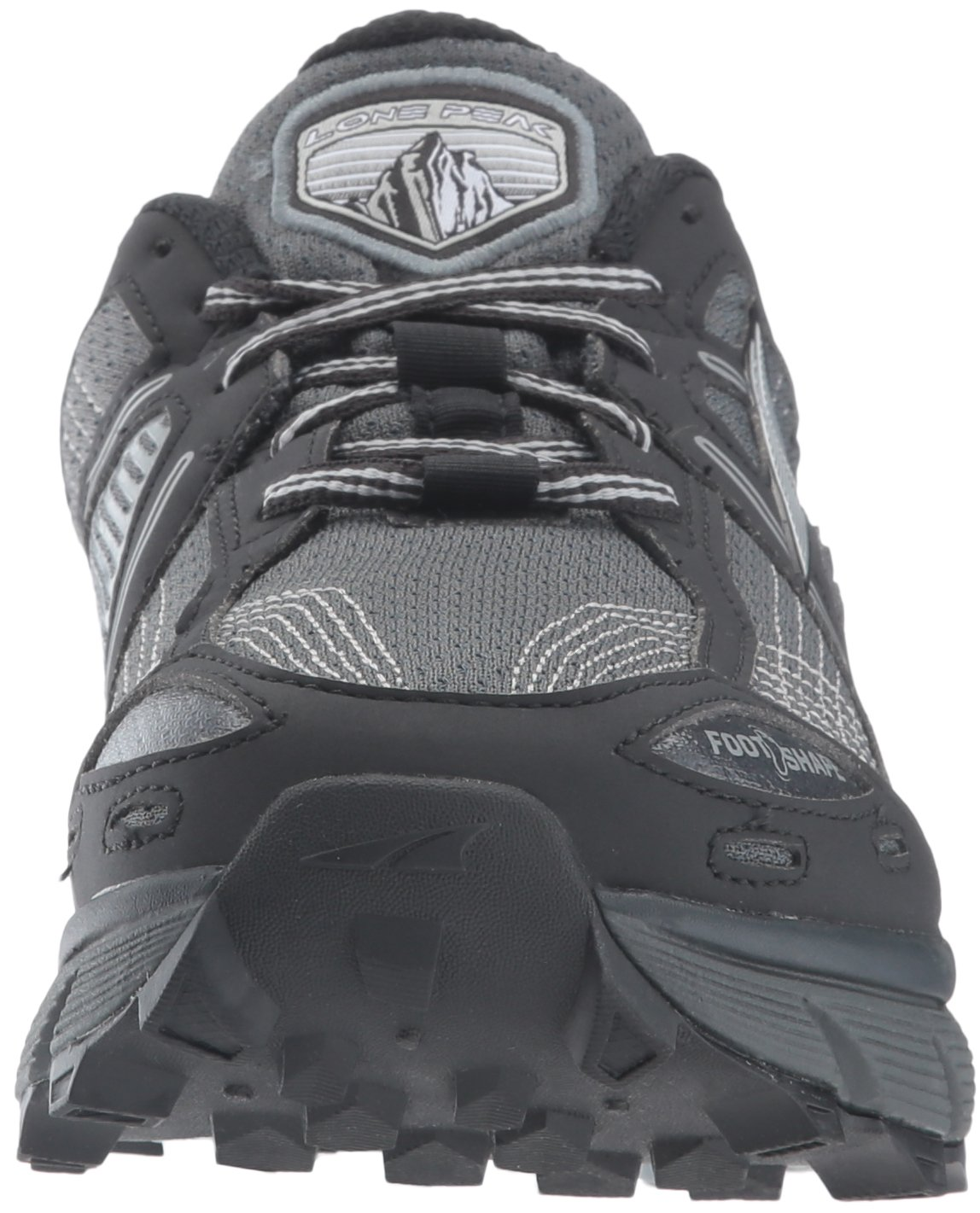 Altra Women's Lone Peak 3.5 Running Shoe, Black, 8.5 B US by Altra (Image #4)