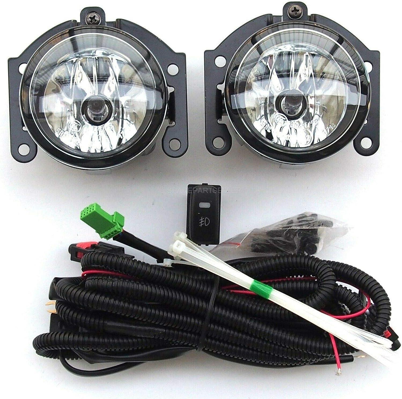 Nebelscheinwerfer Einbauset links und rechts Seitenleuchten und Verkabelung mit Schalter ASX Outlander