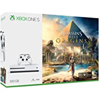 Xbox One S Consola de 500GB + Juego Assassin's Creed Origins - Bundle Edition
