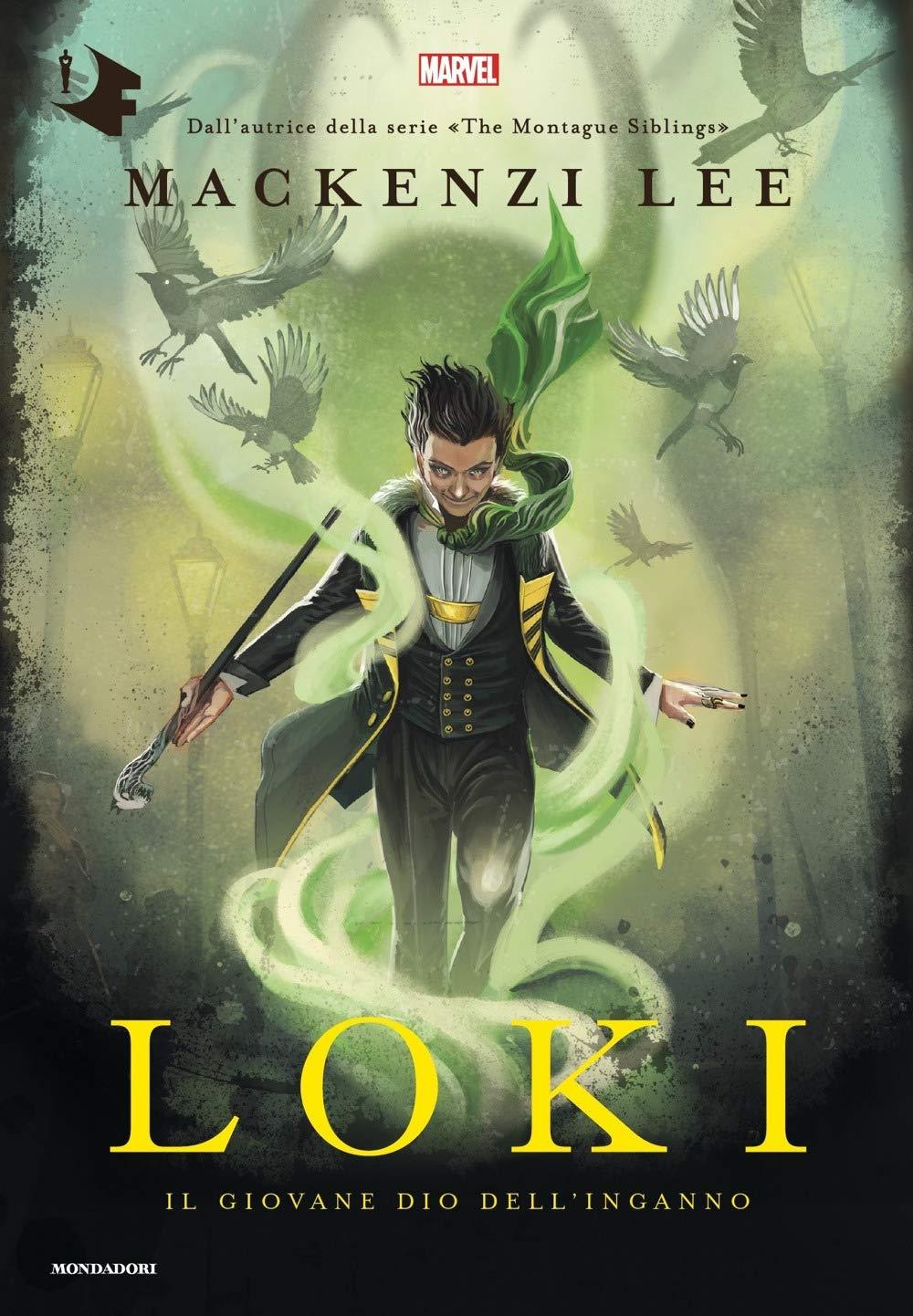 Loki. Il giovane dio dell'inganno - Copertina