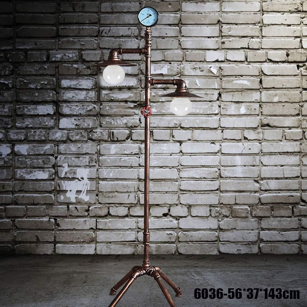 Pumpink Wasserrohr Stehlampe Bodenlicht American Retro Industrie Eisen faltbare Abnehmbare Metall Europäischen Wohnzimmer Studie Schlafzimmer Bar Kreative Dekoration Leselicht