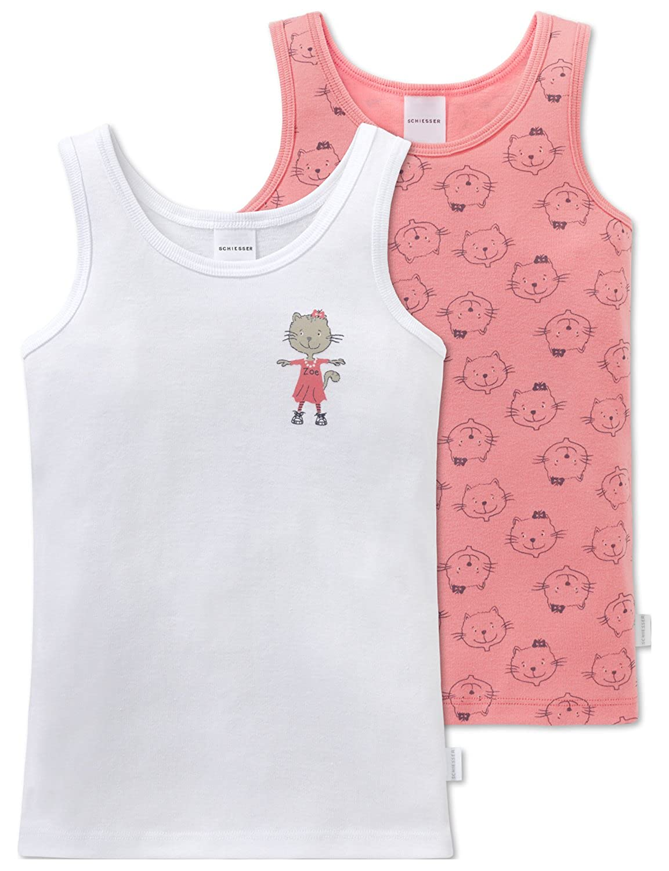 Schiesser Girl's Vest Pack of 2 163344