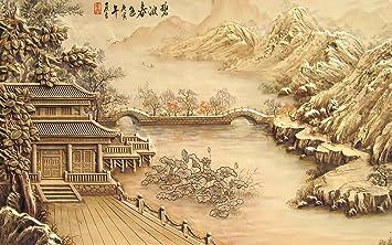 Asiatische Tapete chinesische tapete traditionellem künstler landschaft