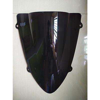New Black Windscreen Windshield For Kawasaki Ninja EX250R 250R 2008 2009 2010 2011 2012 repair part replacement: Automotive