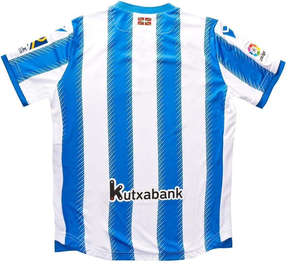 Macron Real Sociedad Primera Equipación 2019-2020 Niño, Camiseta ...
