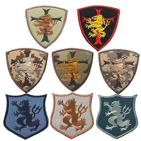Apliques bordados accesorio de bricolaje 8 unids Lion ...