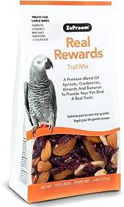 ZuPreem Real Rewards Trail Mix Large Bird Treats