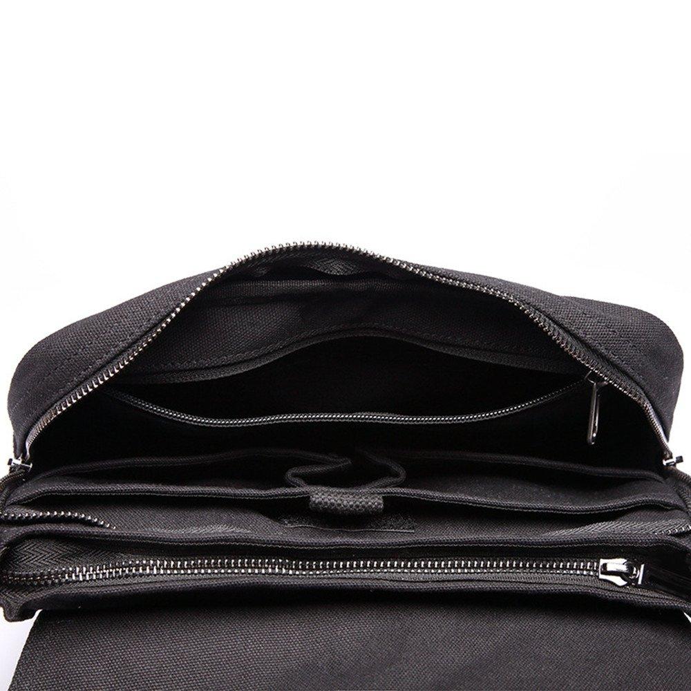 Zhao Xiemao Shoulder Bag Mens Bag Messenger Bag Canvas Shoulder Bags Travel Bag Man Purse Crossbody Bags for Work Business Pack Organizer for Travel Hiking Climbing