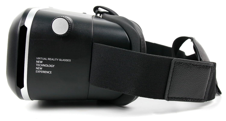 DURAGADGET Gafas de Realidad Virtual VR Ajustables para Smarphone BQ Aquaris X5 Cyanogen Edition//Bluboo Xtouch//BLU Vivo 5 Vivo XL