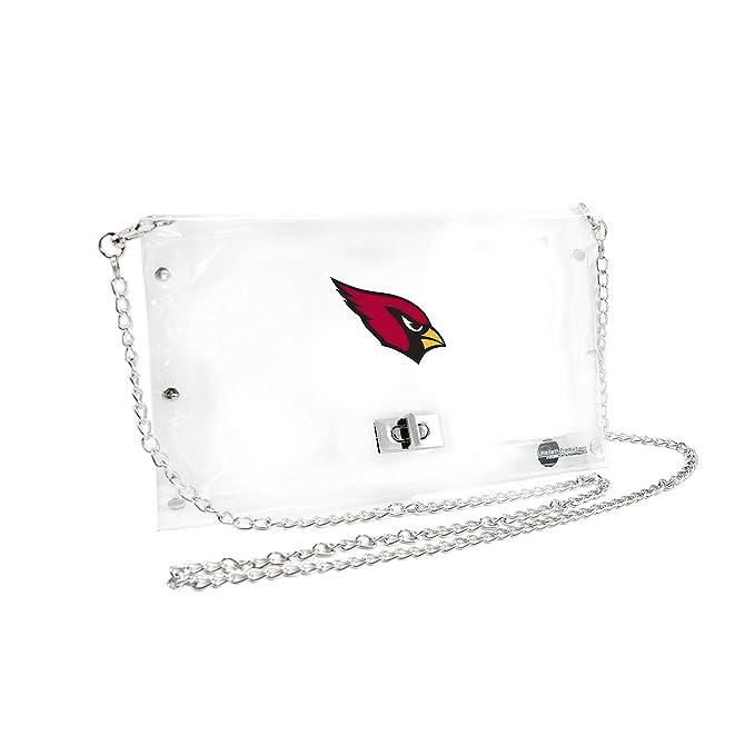 Amazon.com: Cartera estilo sobre de la NFL transparente ...