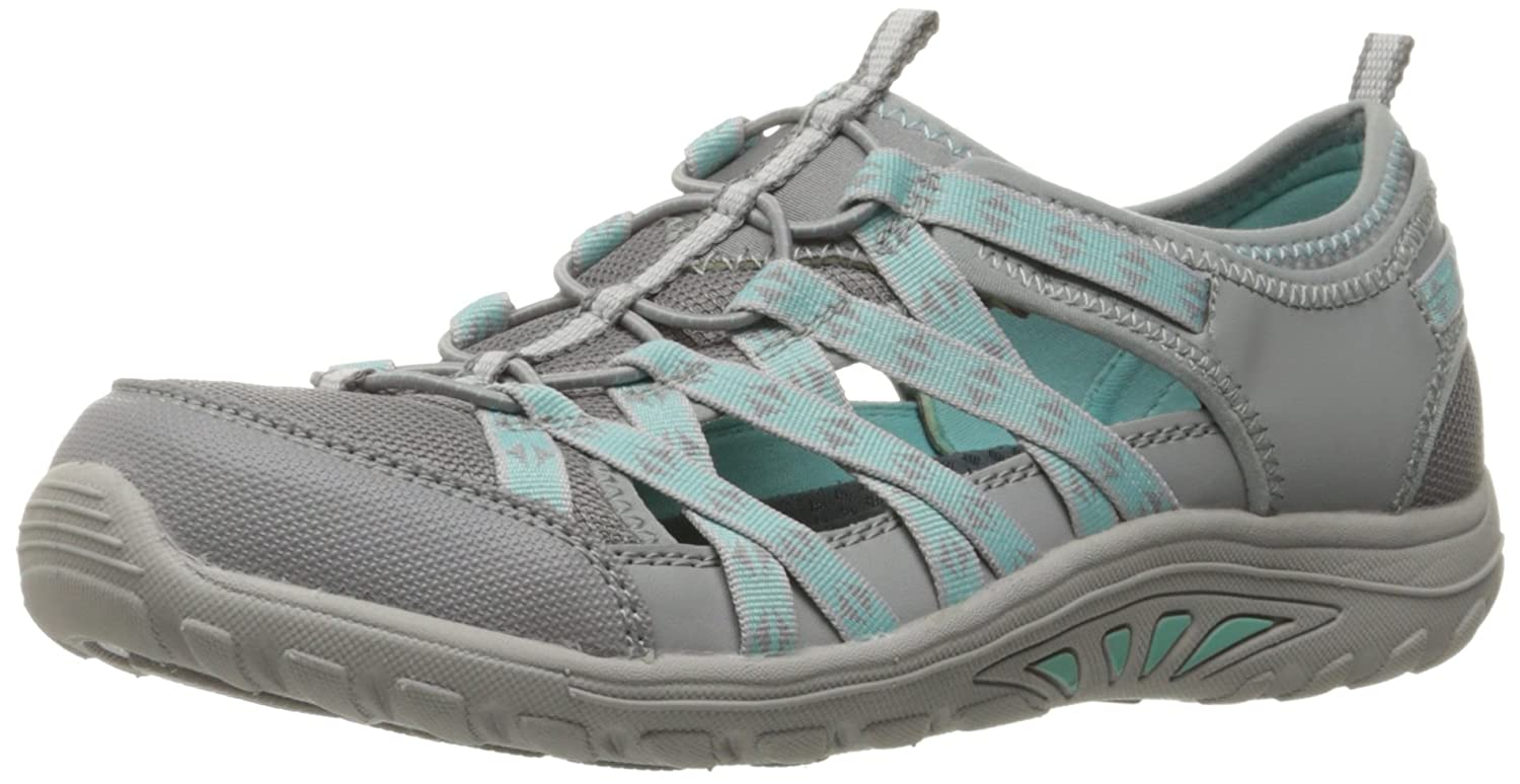 Skechers Damen on Reggae Fest-Dory Slip on Damen Sneaker Grau (Grau) 12470f
