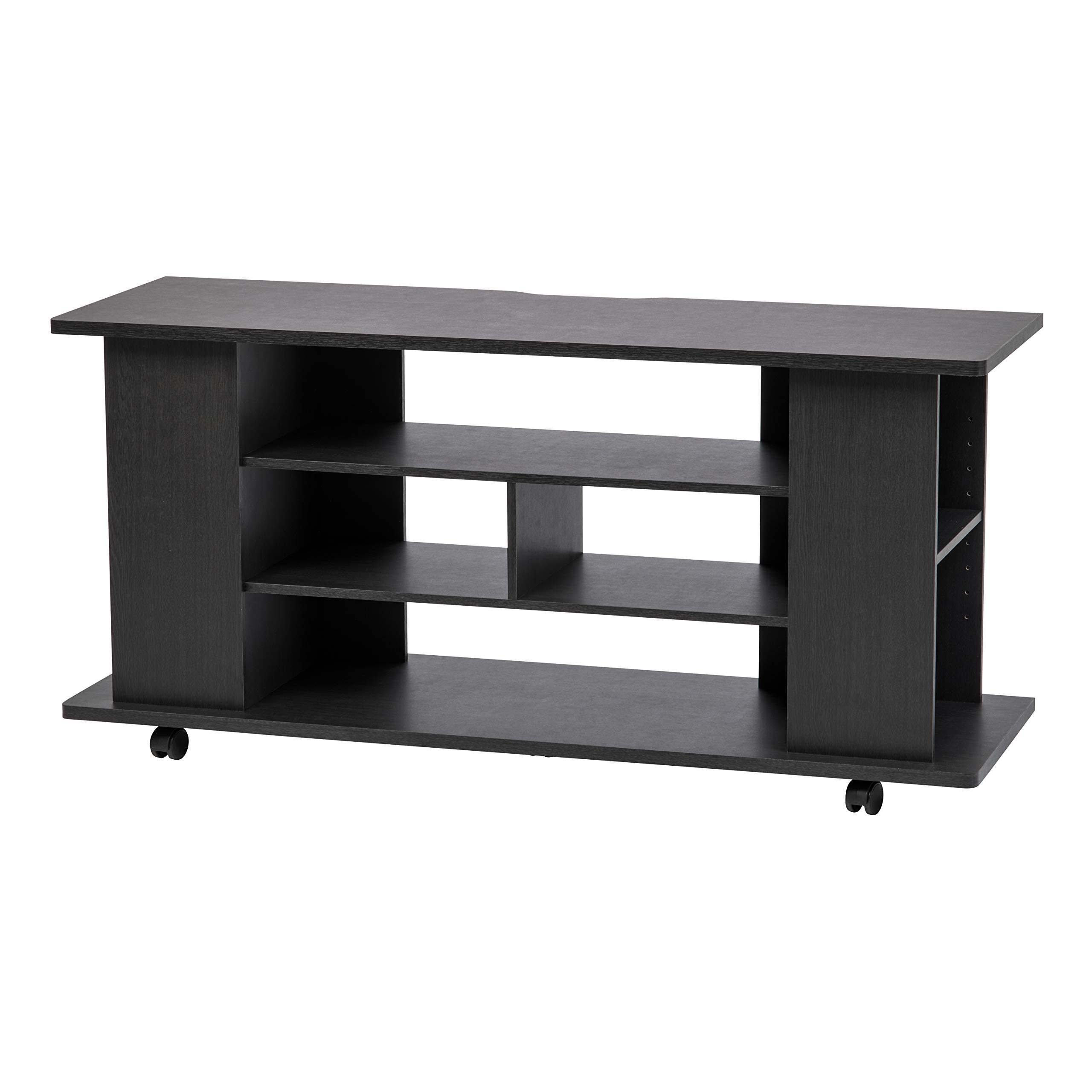 IRIS USA 596500 TVS-119R TV Stand Black