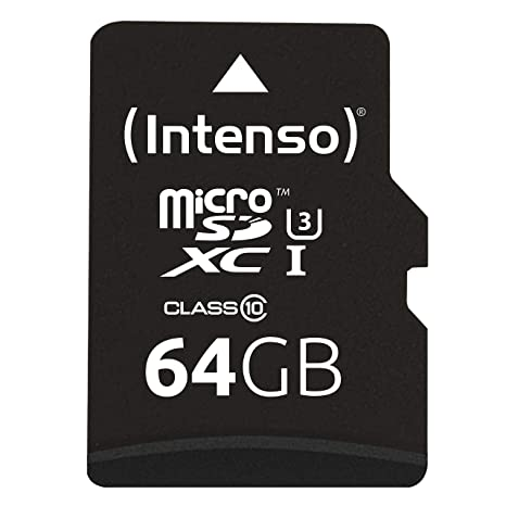 Intenso 3433490 64GB MicroSDXC UHS Clase 10 Memoria Flash ...
