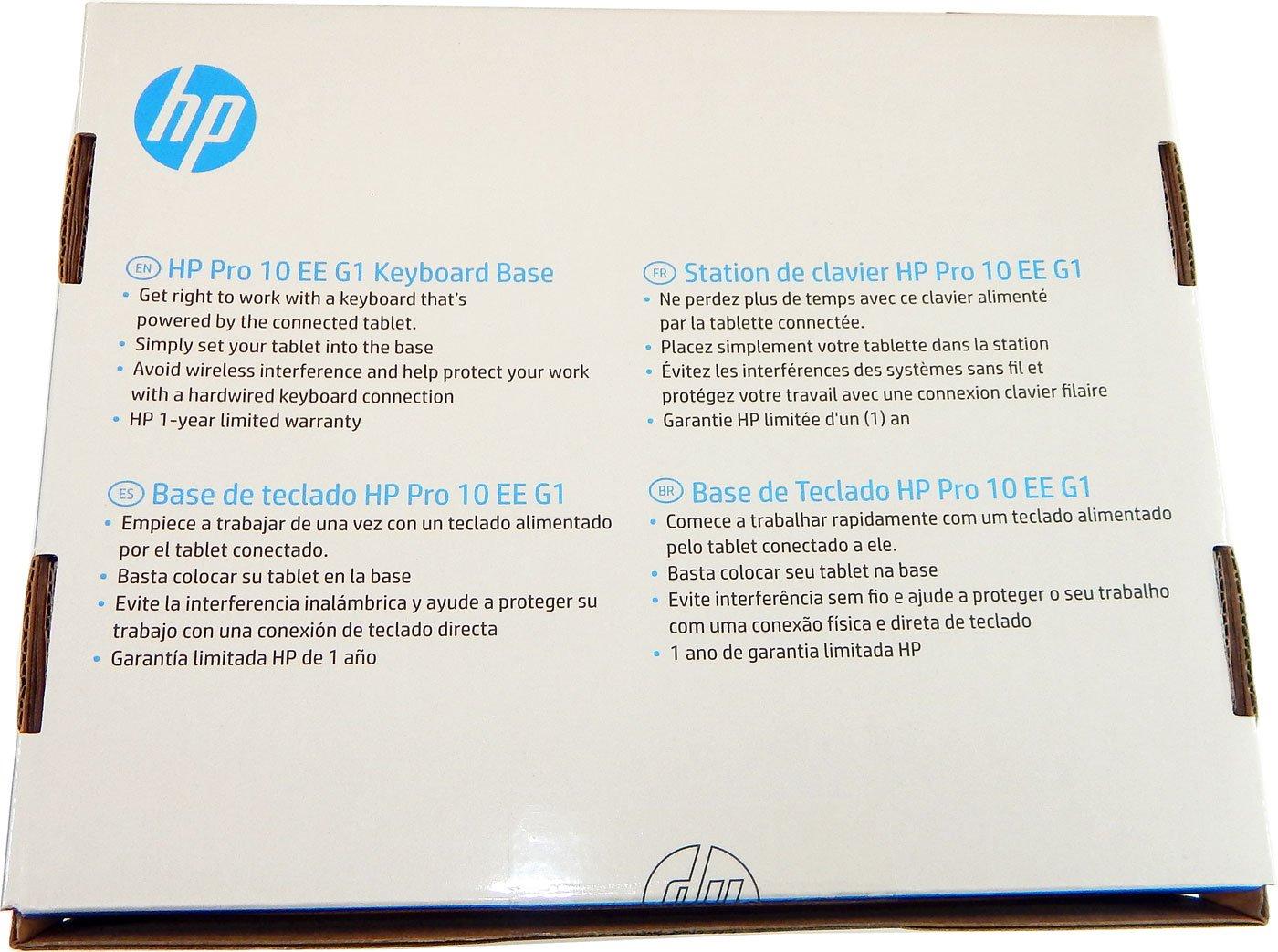 Amazon.com: HP Pro 10 EE G1 Keyboard Base Spanish K7N19AA#ABM: Computers & Accessories
