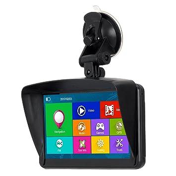 XGODY 884 portátil coche camión GPS 16 GB Pantalla táctil de navegación GPS 7 pulgadas Vehículo