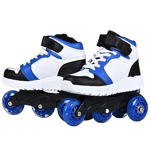 Usay like Envio 24H Zapatillas con Ruedas y Luces Color Azul/Blanco Para Niña Nino