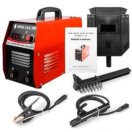 MMA Inverter Welder Arc 220V 20-160A IGBT Equipo de soldadura de arco portátil Kit