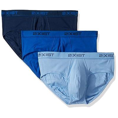 2(X)IST Men's 3 Pack No Show Brief Underwear at Men's Clothing store
